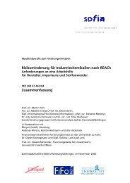 pdf, 250 kB - sofia - Sonderforschungsgruppe Institutionenanalyse