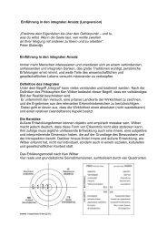 Einführung in den integralen Ansatz (Langversion) - Integrales ...