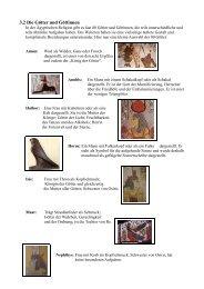 3.2 Die Götter und Göttinnen - TU Ilmenau Blogs