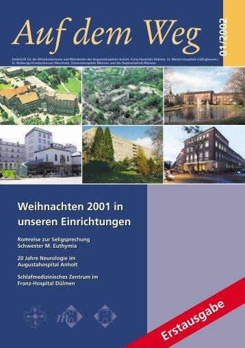 am Augustahospital Anholt - Misericordia GmbH ...
