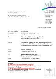 EL 19-03 Deutschland 2030 - VdU