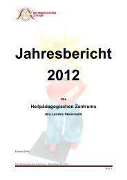 Download Jahresbericht 2012 - Land Steiermark