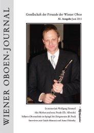 50 - Gesellschaft der Freunde der Wiener Oboe