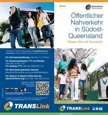 Ihr Führer zum öffentlichen Personenverkehr in Südost ... - TransLink