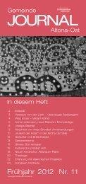 Gemeinde Journal Frühjahr 2012 - Ev.-Luth. Kirchengemeinde ...