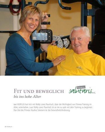Fit und beweglich - Fitness Salutaris > Home