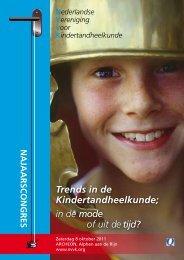 INfORMATIE - Nederlandse Vereniging voor Kindertandheelkunde