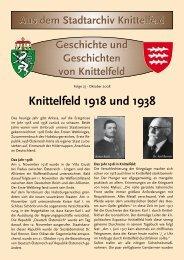 Knittelfeld 1918 und 1938