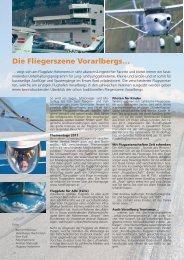 Ausflugsziel Flugplatz Hohenems - Flugpost - Rundflugteam