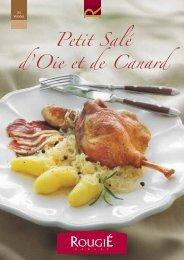 Petit Salé d'Oie et de Canard - Foie Gras Rougié