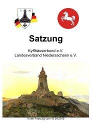 Satzung LV DINA 5 S 1-16 - Nienburg Online