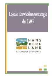 Lokale Entwicklungsstrategie - Hansbergland