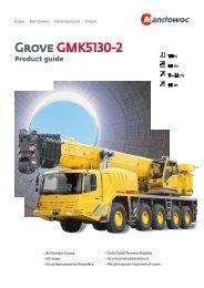 Grove GMK5130-2 - Wheeler Cranes