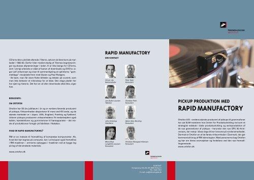 Pickup case story - Teknologisk Institut