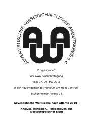 Programmheft der AWA-Frühjahrstagung vom 27.-29 ... - awa-info.eu