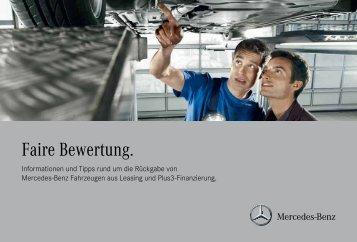 Faire Bewertung für Pkw - Mercedes-Benz Bank