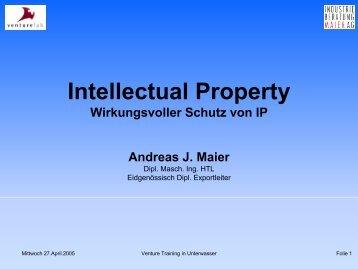 Intellectual Property - Wirtschaft