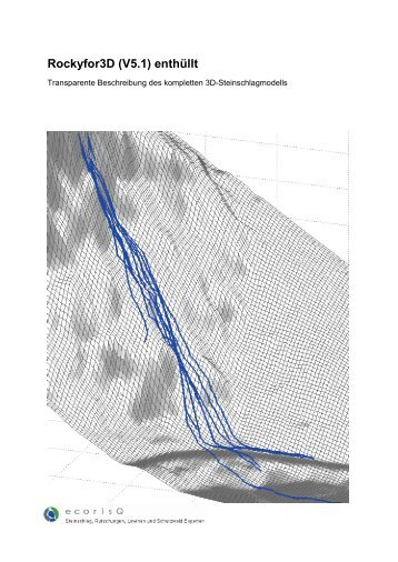 Rockyfor3D – Description of the complete 3D rockfall model - ecorisQ
