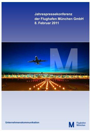 Jahrespressekonferenz 2011 (pdf) - Flughafen München