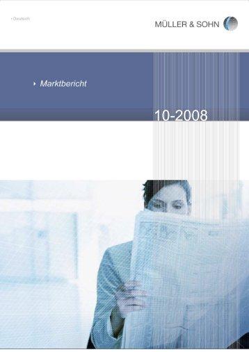 Marktbericht Oktober 2008