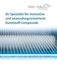 AKRO Image Broschüre A4 - AKRO-PLASTIC GmbH