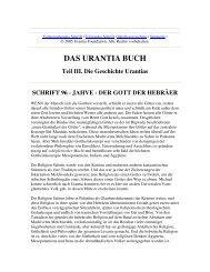Das Urantia Buch - Schrift 96 - Jahve - Der Gott Der Hebräer