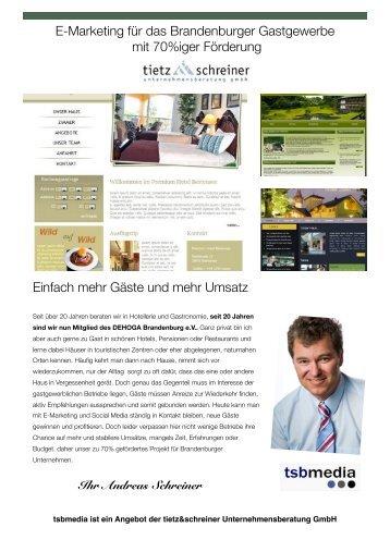 in der Projektbroschüre (PDF Download) - tietz & schreiner ...