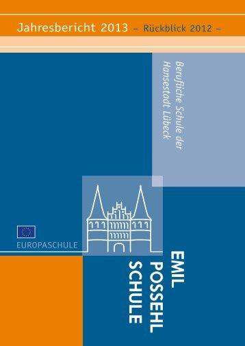Jahresbericht_2013.pdf - Emil-Possehl-Schule Lübeck
