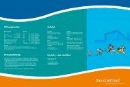 Folder zum Download - Stadtbad Dornbirn