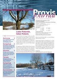 Ausgabe 9 / 2009 - Onkologische Schwerpunktpraxis Celle