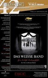 Spielwoche 42 15. bis 21. oktober 2009 - Thalia Kino