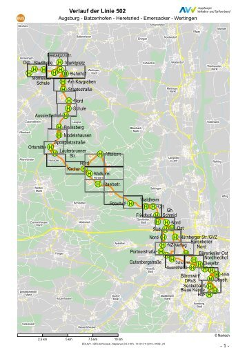 Atlas / MapServer - GVZ Augsburg