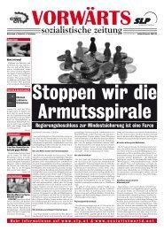 vorwaerts183_sep09.qxd (Page 1) - SLP