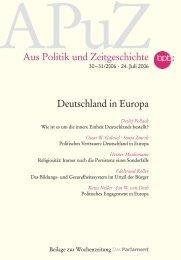 Deutschland in Europa - European Social Survey