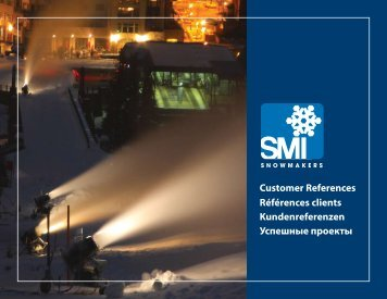 Customer Reference Book 2009 - Snow Machines, Inc.