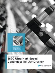 1620 Ultra High Speed Continuous Ink Jet-Drucker