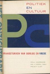 nr. 4 april - Publicaties Nederlandse Politieke Partijen