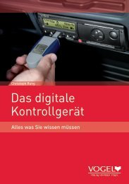 Das digitale Kontrollgerät - Springer Automotive Shop