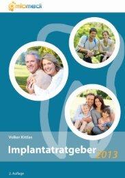 Implantatratgeber 2013 - Zahnärzte Dr. Schrott & Partner