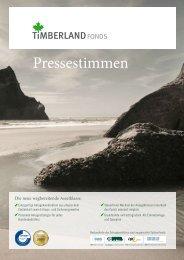 Pressestimmen - Timberland