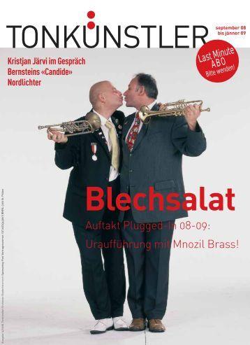 Tonkünstler-Magazin Nummer 15 - Tonkünstler-Orchester ...