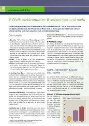 E-Mail: elektronischer Briefwechsel und mehr - THE FOUNDERS