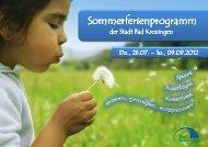 Programmheft 2012 - Gemeinde Bad Krozingen