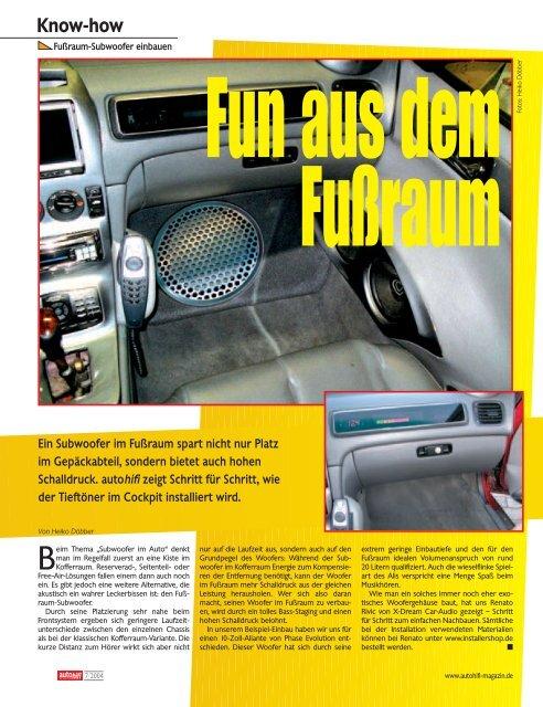 Know-how - Kadett-Forum.de