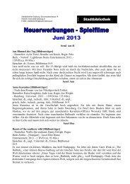 Spielfilme Juni (PDF, 188 kB) - Stadt Salzburg
