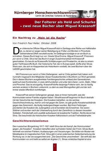Der Folterer als Held und Schurke - zwei neue Bücher über Miguel ...