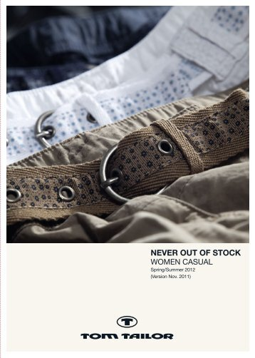 NEVER OUT OF STOCK - TOM TAILOR B2B-Shop f318828421460