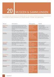 Überblick aller Museen, Galerien, Sammlungen ... - Schweinfurt 360
