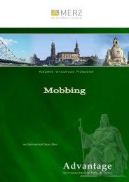 Mobbing - Anwaltskanzlei Merz - Dresden