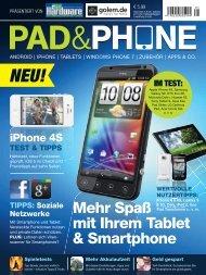 Mehr Spaß mit Ihrem Tablet & Smartphone - RedParkz